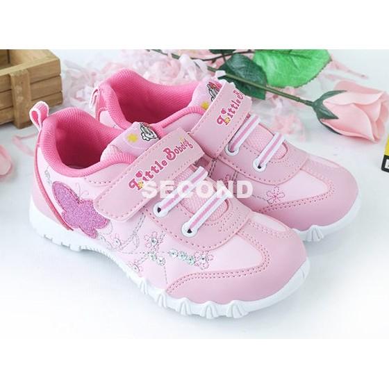 208 童18 23 秀氣蝴蝶結亮片氣質MIT 休閒鞋布鞋