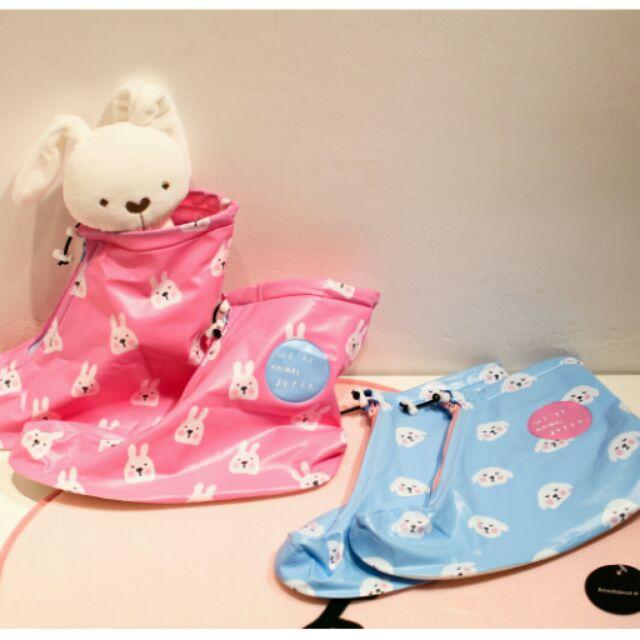 ~萌萌動物中筒雨鞋套~可愛防水雨鞋套兔子小狗雨天 中筒雨鞋套