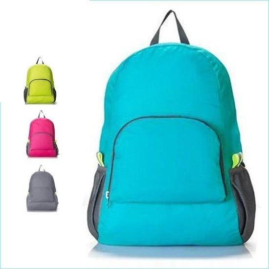 ☜shop go ☞~Y21 ~ 旅行可折疊雙肩包多 雙肩背包收納包旅行包輕薄款型
