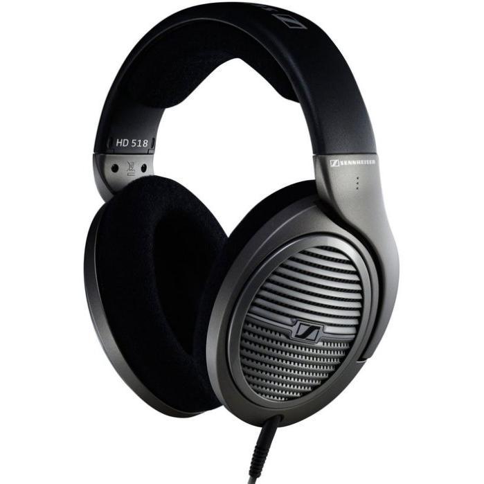 德國Sennheiser 森海塞爾HD518 高音質耳罩式耳機聲海頭戴式Beats 飛利浦