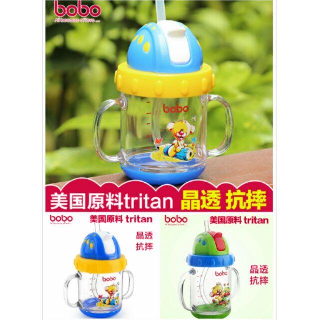 寶寶水杯嬰幼兒學習飲抗摔防漏水瓶學習杯防漏水杯幼兒園書包兒童書包生日 兒童吸管杯水壺