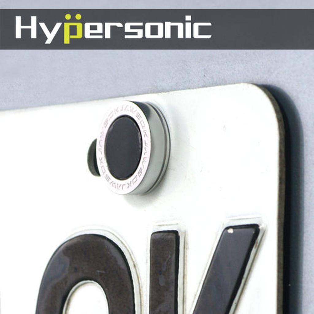 Hypersonic HP6437 鋁製車牌螺絲鎖鋁合金帽扣牌照螺絲車牌扣車牌栓防盜車身裝