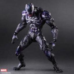 ~紫色風鈴3 3 ~仿製動漫蜘蛛俠毒液Venom PA 改PlayArts 改漫威關節可動
