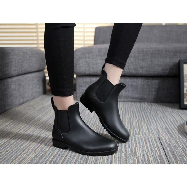 2016  短筒防水雨靴雨鞋晴雨鞋馬丁鞋雨季~H031 ~