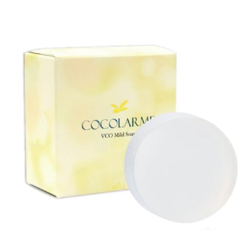 VCO 椰油精粹嫩白洗顏皂贈起泡網