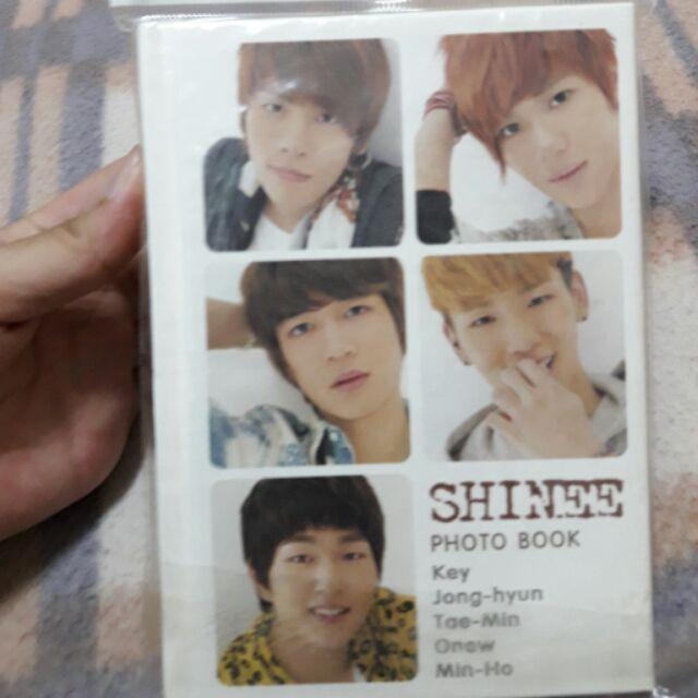 SHINee 相片本收藏冊key 李泰民李珉豪金鐘鉉溫流