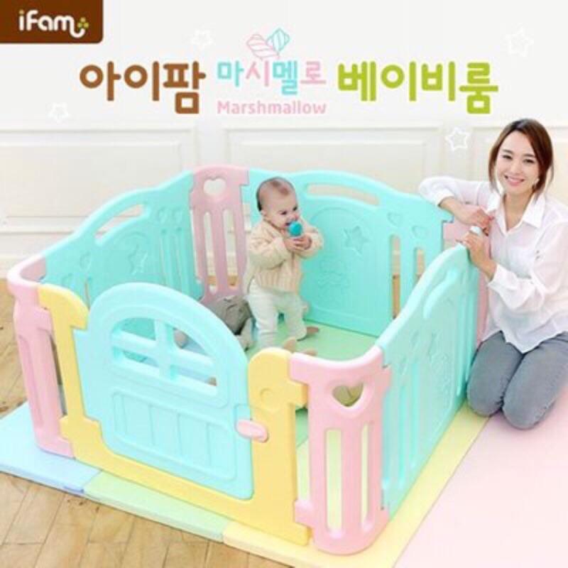 韓國正品ifam 寶寶圍欄防滑球池 組4 片8 片組都有