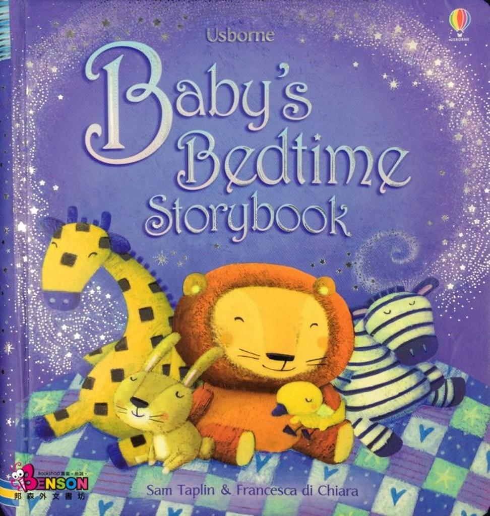 邦森外文書Usborne Baby 's Bedtime Storybook 寶寶的短篇床