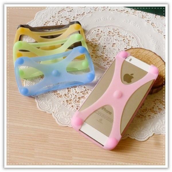 A2719 果凍矽膠手機背套手機邊框止滑手機保護套手機殼手機套iphone5 6 plus