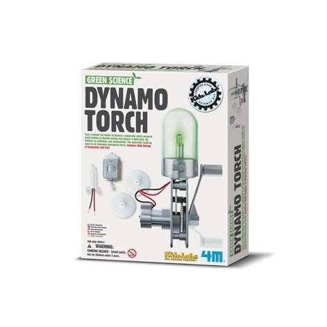 神奇發電機Green Science Dynamo Torch 節能減碳趕快加入愛護地球的