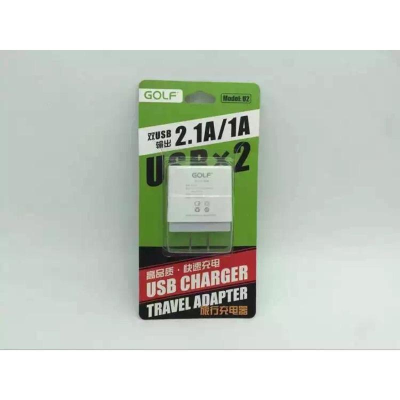 Golf 快充插頭2 1A 3 1A 1A 極速充電3 0 閃充雙USB 充電精緻型插座