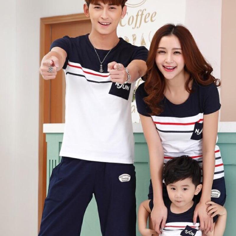 [ ]全家裝一家三口四口裝母子母女家庭裝上衣T 恤