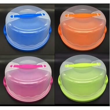 ~vivi 烘焙~8 10 寸蛋糕盒塑膠環保PP 可擕式手提烘焙包裝盒生日蛋糕盒塑膠蛋糕盒