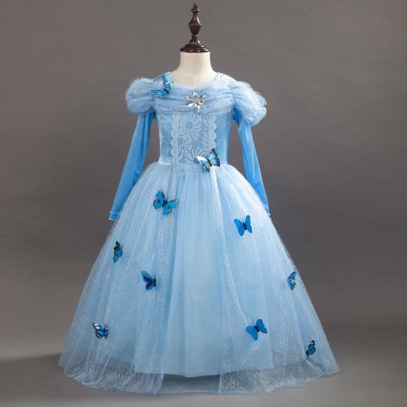 萬聖節服裝 B513 ~ 灰姑娘公主裙洋裝~魔法 衣櫃