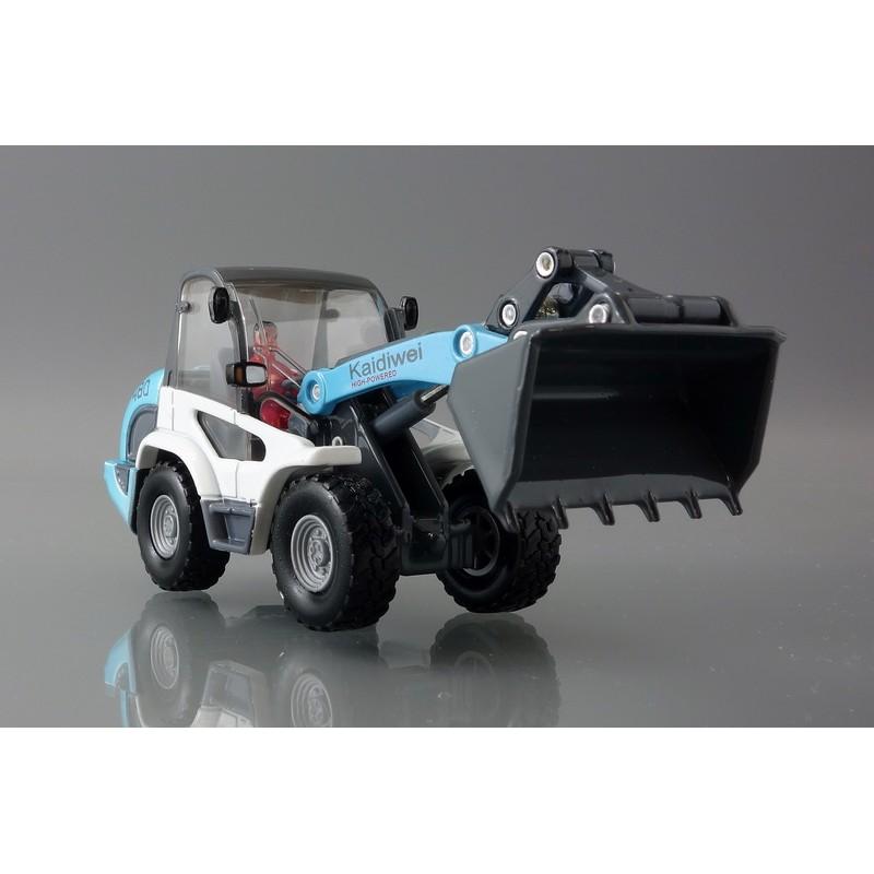 ~Yuzu ~凱迪威Kaidiwei 水藍色推土機輕型鏟車工程車1 50 SIKU