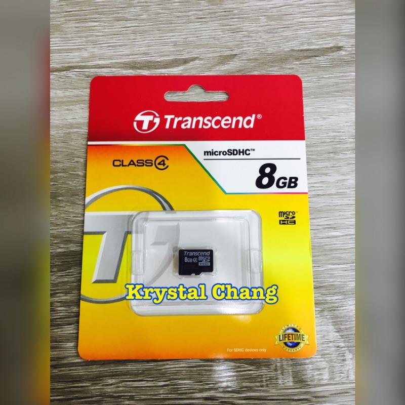 創見記憶卡8G Transcend Micro SD 8GB UHS I U1 Micro