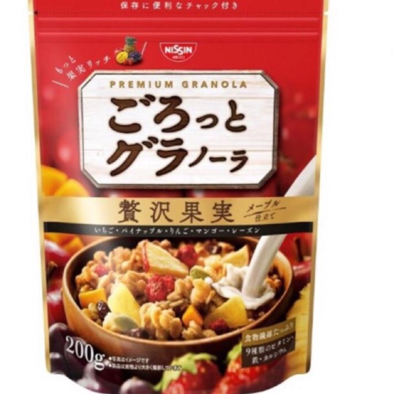 曰本日清水果麥片200g