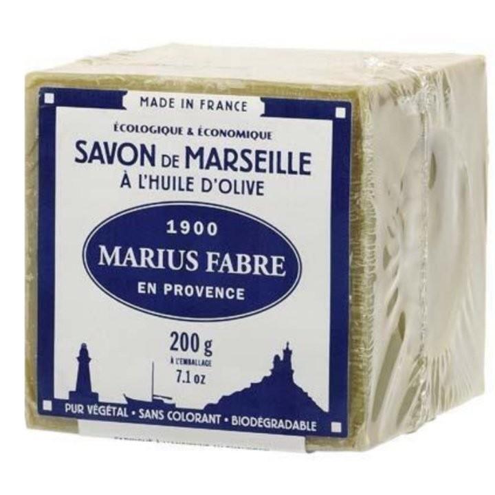 法國百年傳承MARIUS FABRE 法鉑橄欖油 馬賽皂200g 效期2017 06 24