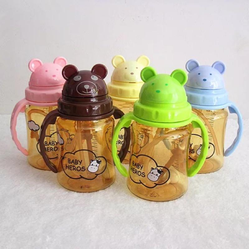 韓國 Baby Heros 專利科技納米銀寶寶學習杯五色