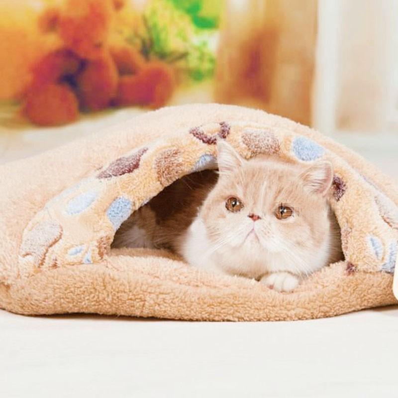 小爪印貓睡袋