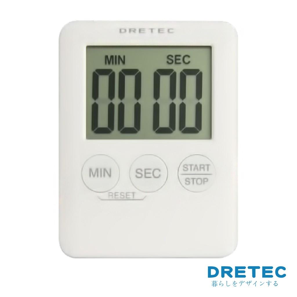 ~Click Buy 可立買~ DRETEC 薄型計時器MP3 電子正倒數T 307WT