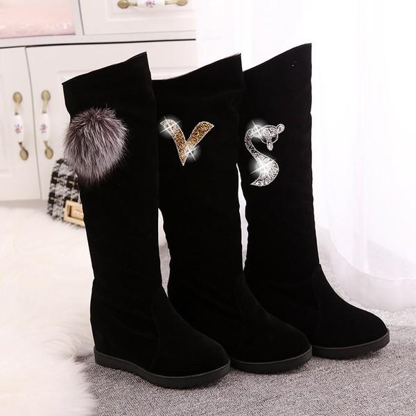 中筒靴女春秋單靴子冬2016 女靴百搭流蘇短靴平底 馬丁靴潮