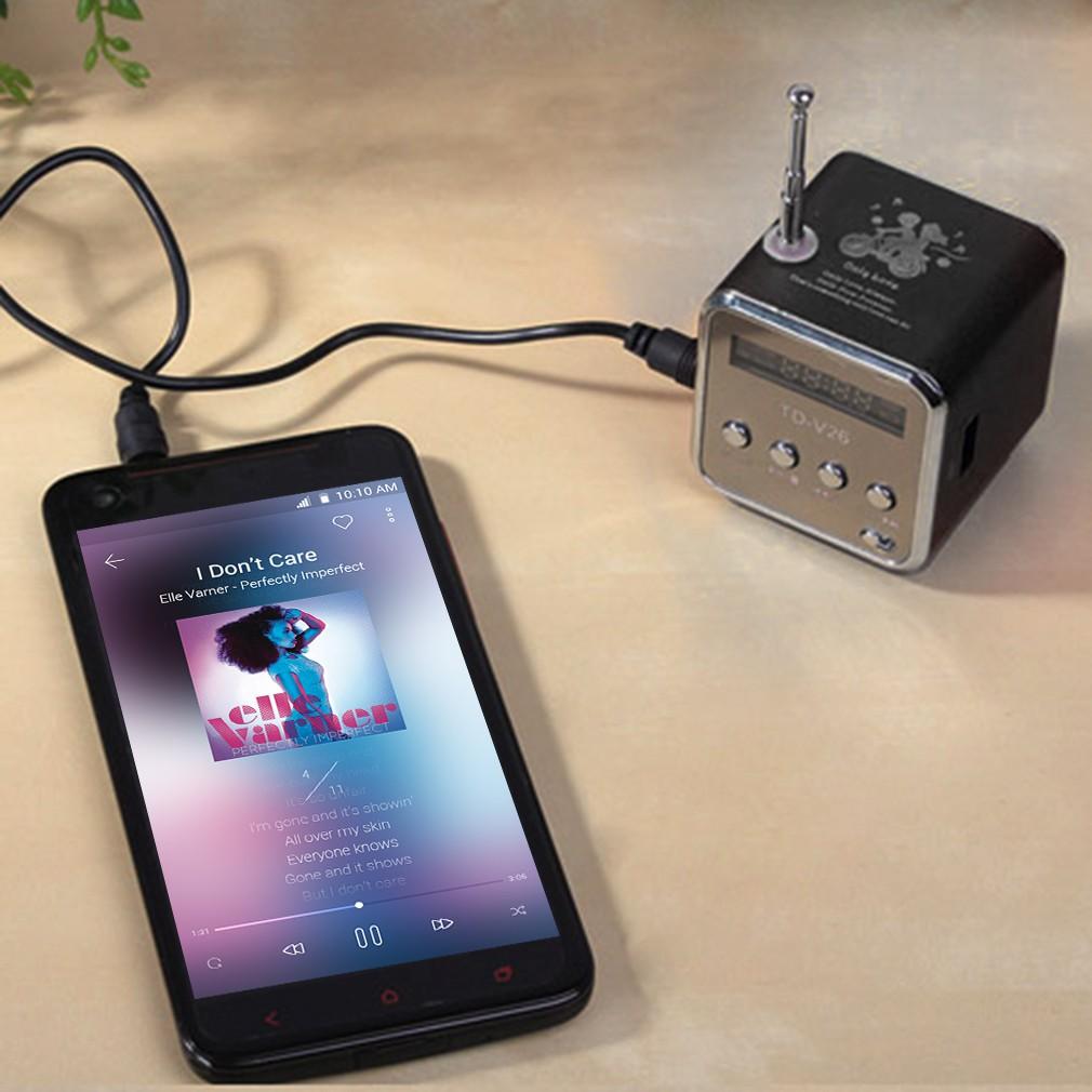 ~ 今日 ~便攜式TF USB 迷你立體聲揚聲器音箱音響