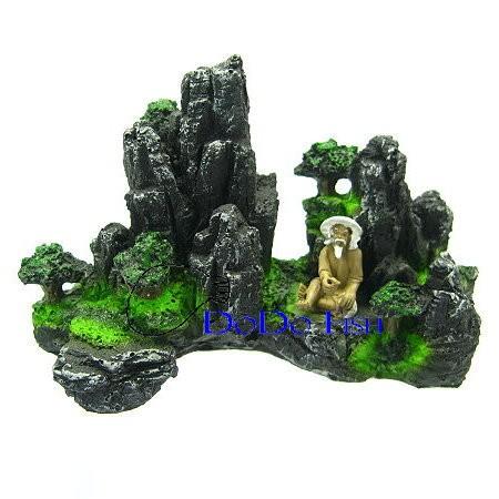 漁翁假山小造景裝飾飾品系列ISTA 宗洋ED119 ED119 dodo pets