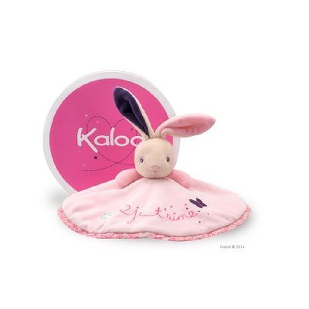 🎉限時限量特價中 🌟正版🌟【 法國 Kaloo 】 PETITE ROSE Rabbit 兔兔圓裙安撫巾