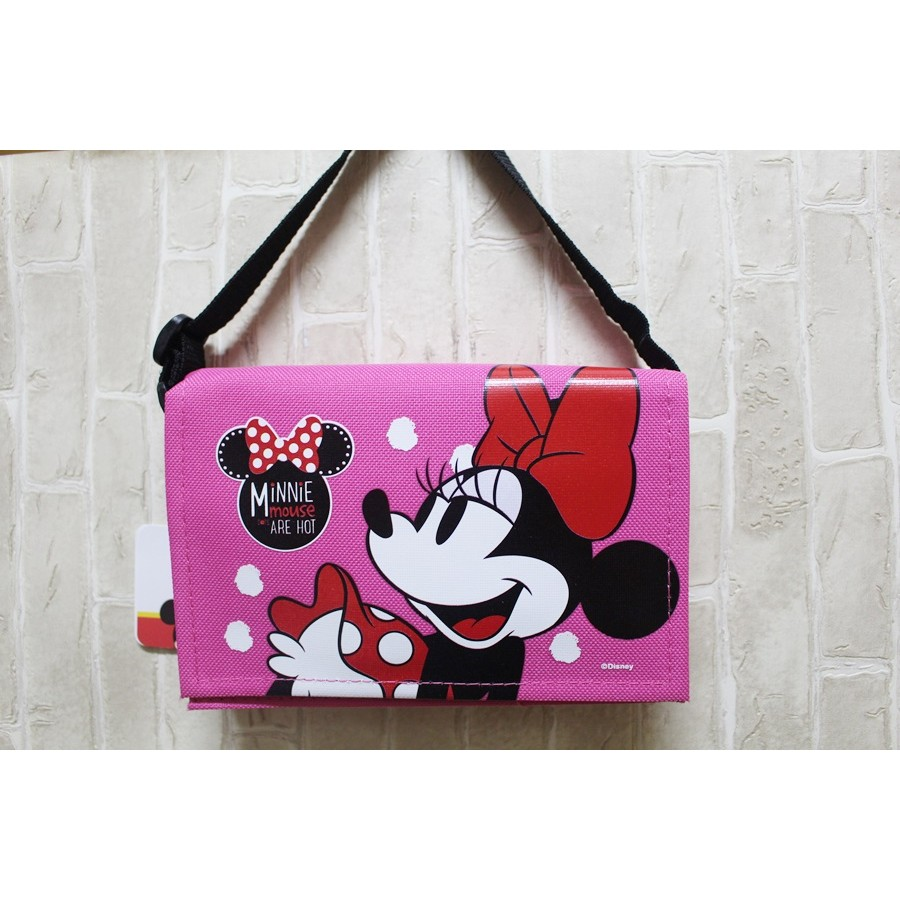 迪士尼米妮書包筆袋手提包小包包零錢包存褶包置物袋悠遊卡包小袋子化妝包化妝袋萬用包