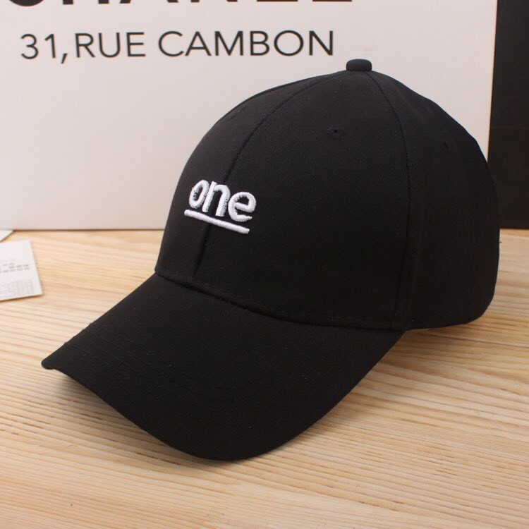 ~BUY ~~新品 ~~ 百搭GD 同款潮牌字母One 純色帽子~棒球帽鴨舌帽BIGBAN