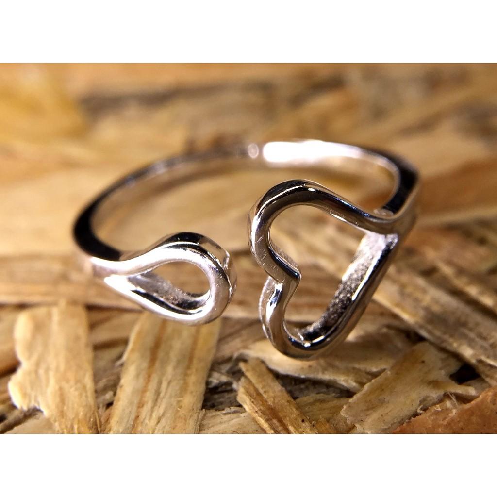 !香港正生純銀925 戒指心10 送禮送朋友送女友生日 新年 情人節母親節送太太送老婆佳品