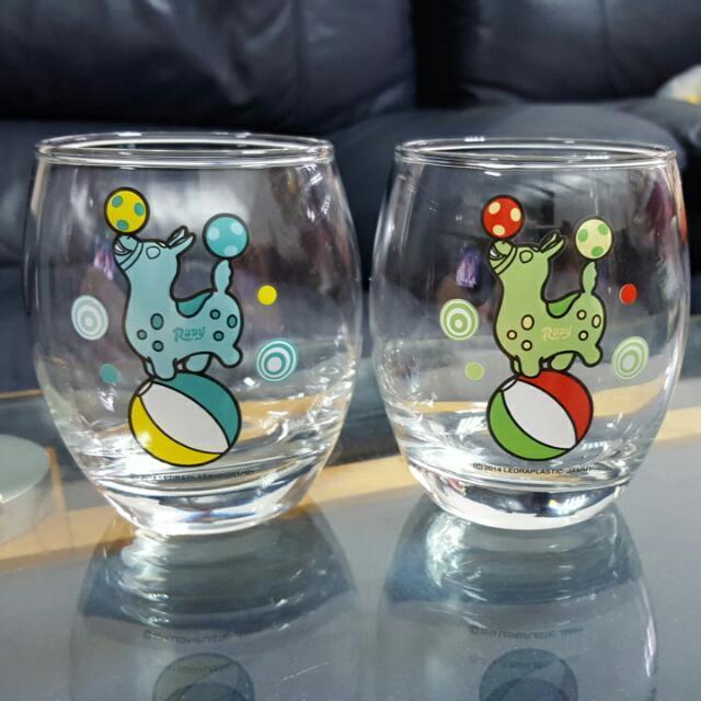 跳跳馬RODY 玻璃杯組
