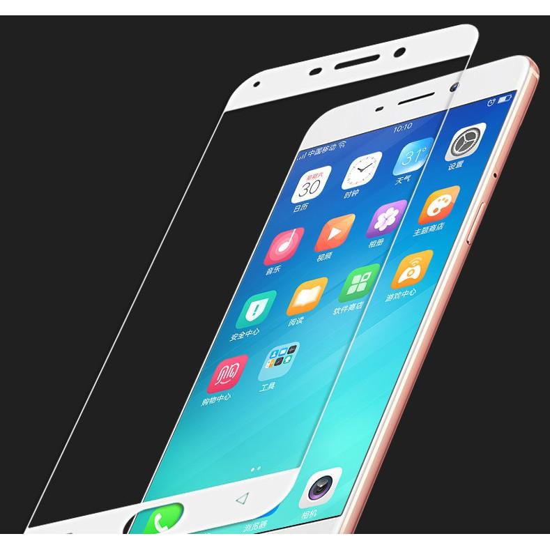 滿版2 5D 弧邊技術OPPO R9 R9 Plus9H 鋼化玻璃貼疏油疏水全屏覆蓋螢幕貼