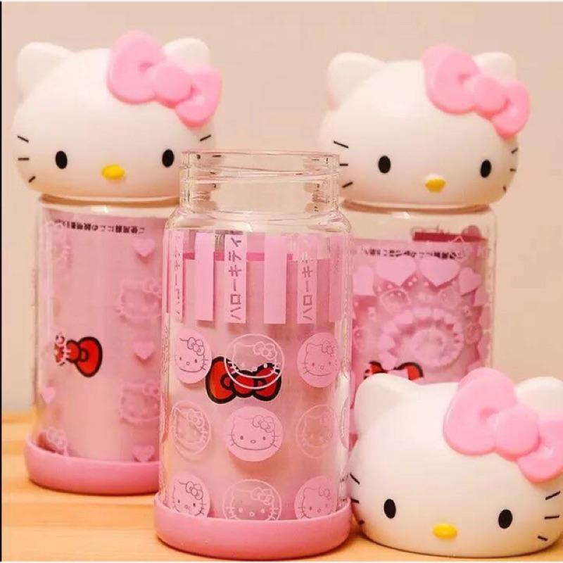300ml 大頭kitty 可愛日系玻璃水壺