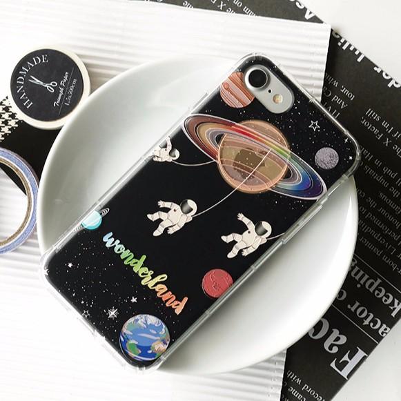 DEVILCASE 抗衝擊殼太空遊樂園iPhone 6 6s plus 7 7plus 透