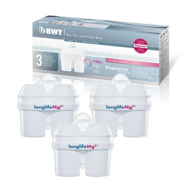 ~BWT 德國倍世~Mg2 鎂離子八週長效濾芯濾心3 入組 BWT 所有濾水壺 Brita