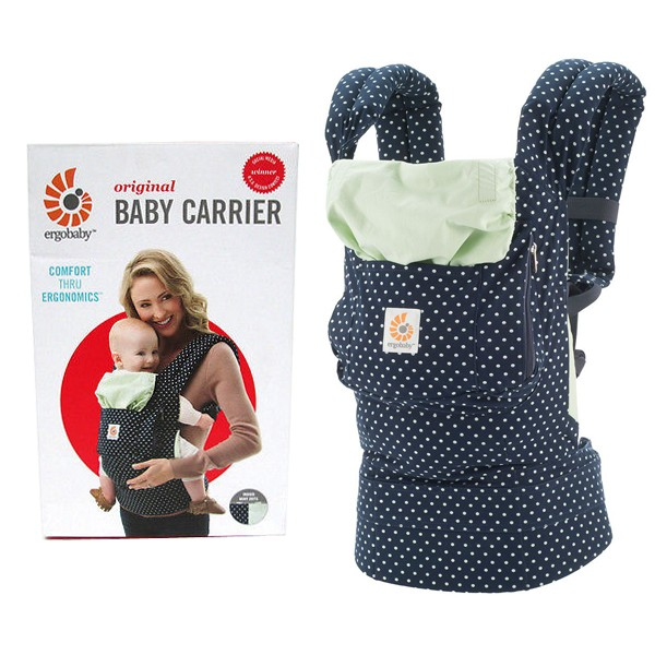~蓁寶貝~100 正品ergobaby 爾哥寶寶原創 款嬰童背帶薄荷點點