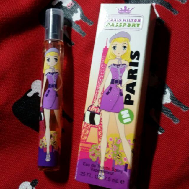 Paris Hilton Passport 派瑞絲希爾頓旅行護照女性淡香水香水筆巴黎7 5