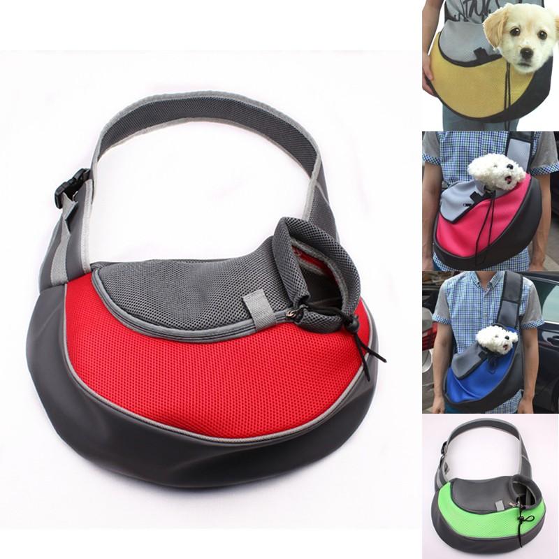 寵物犬外出便攜帶手提箱泰迪狗狗貓咪斜挎旅行單肩背包貴賓袋子