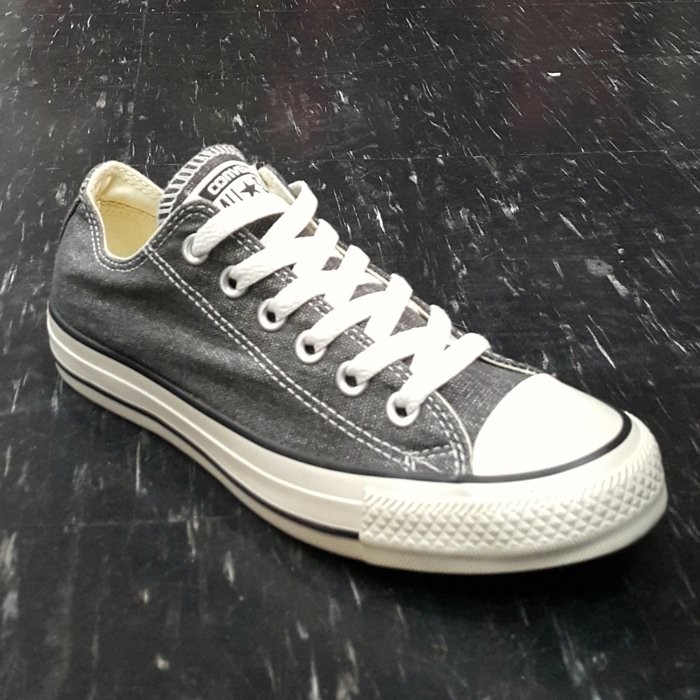 Converse Chuck Taylor All Star 黑色灰色米白色刷白刷舊雪花奶