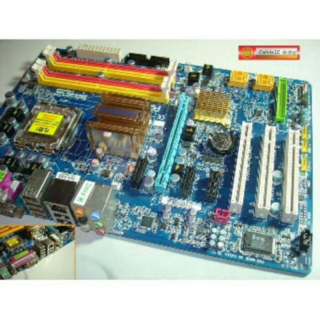 技嘉GA P35 DS3L 775 腳位Intel P35 晶片4 組SATA 4 組DD