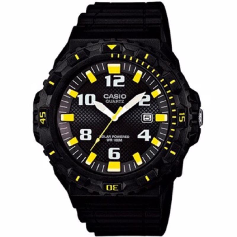 CASIO MRW S300H 潛水 風,環保的太陽能錶盤,吸收陽光或各種微弱光源