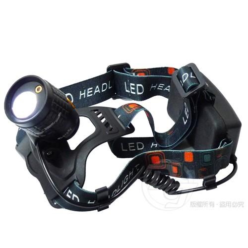雷特斯28W 亮度變焦LE 充電式頭燈LTS 25W602