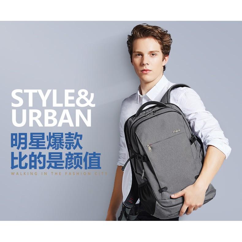 MIXI 背包雙肩包大學生書包 潮流休閒商務電腦包旅行包後背包