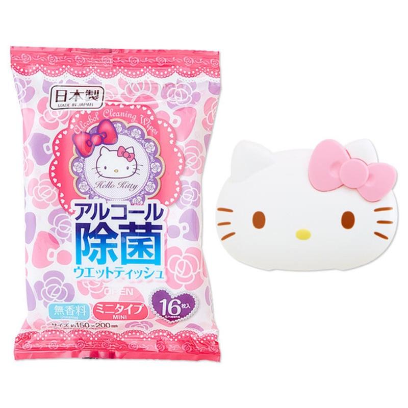 ~Amigo Gift 朋友 ~ 三麗鷗Hello kitty 凱蒂貓濕紙巾蓋紙巾蓋隨身濕