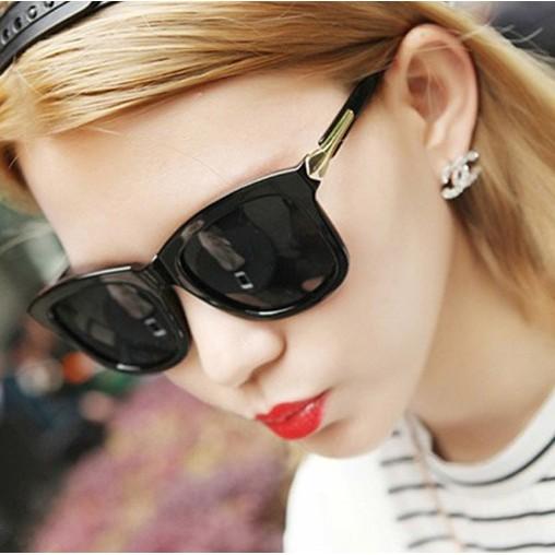 ~灰熊Q ~ 太陽眼鏡女明星款墨鏡復古黑超男女太陽眼鏡開車駕駛眼鏡2868
