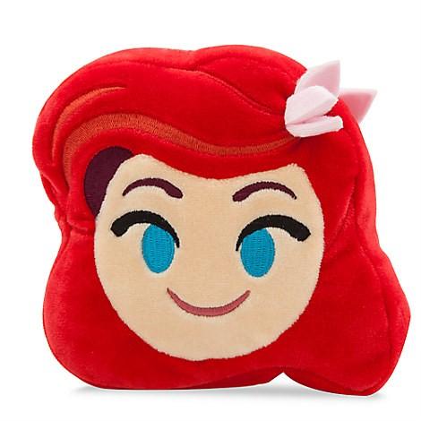L 美國連線嗨心購~官方正貨~美國迪士尼disney 小美人魚AREI 辛巴雙面表情抱枕4