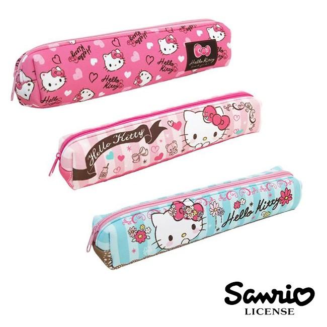 含稅 HelloKitty 凱蒂貓長型防震筆袋長型筆袋鉛筆盒三麗鷗Sanrio 開學季
