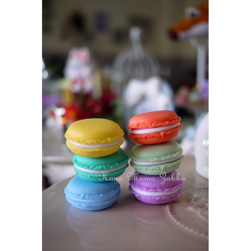 馬卡龍道具小盒子收納可開甜點可愛塑膠拍照背景點心法式彩虹雜貨花木馬 雜貨